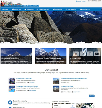 Sherpa Tabuche Treks & Expedition